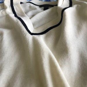 J. Crew varsity v-neck summer sweater